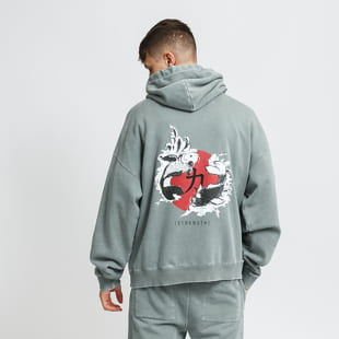 PREACH Oversized Circled Koi Hoody