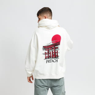 PREACH Oversized Rising Sun Hoody