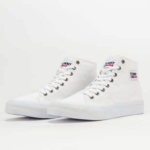 TOMMY JEANS Mid Cut Long Lace Up Vulc