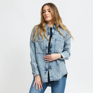 Urban Classics Ladies Denim Oversized Shirt