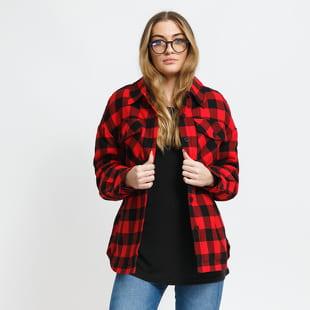 Urban Classics Ladies Flanell Padded Overshirt