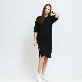 Urban Classics Ladies Organic Oversized Slit Tee Dress