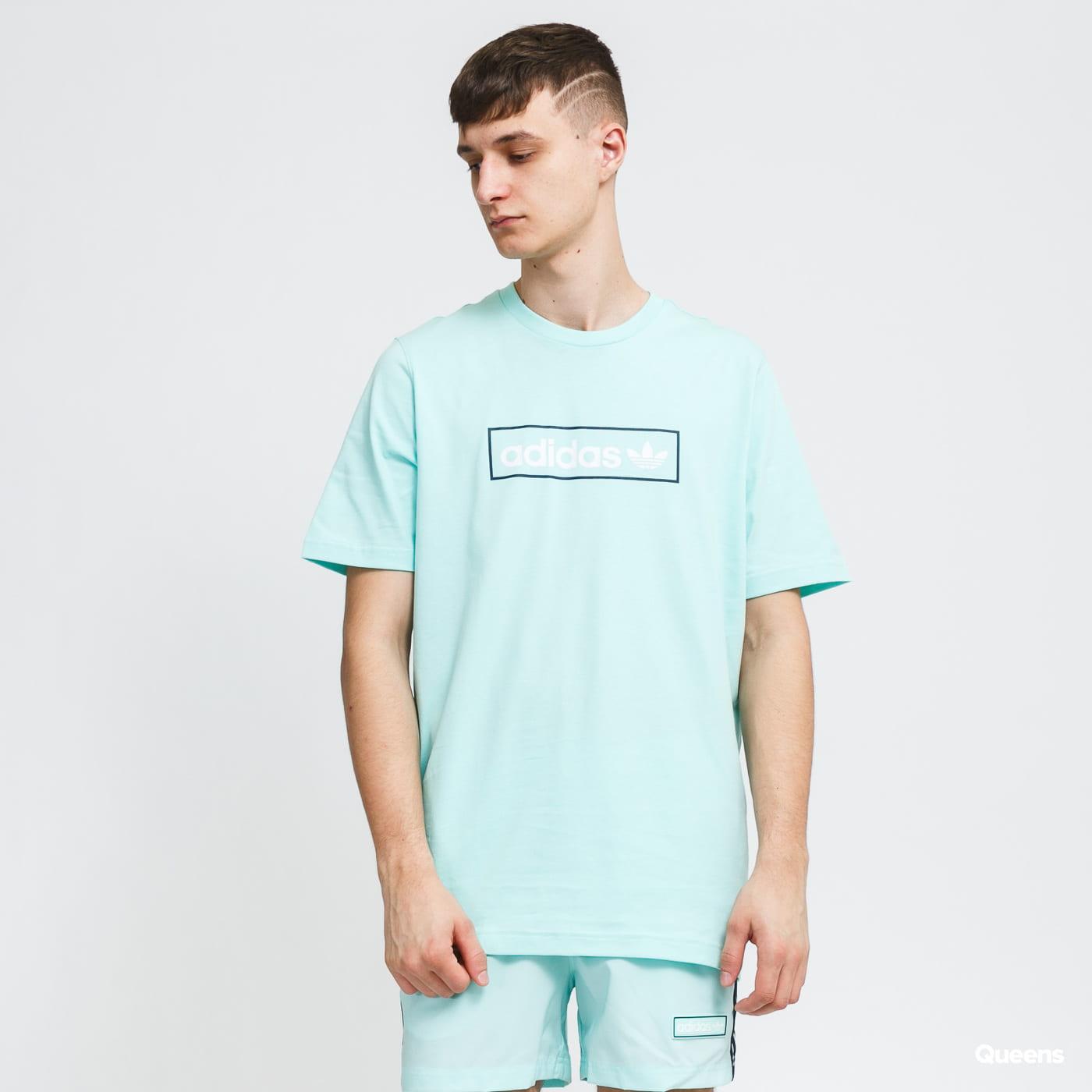 adidas Originals Linear Logo Tee menthol