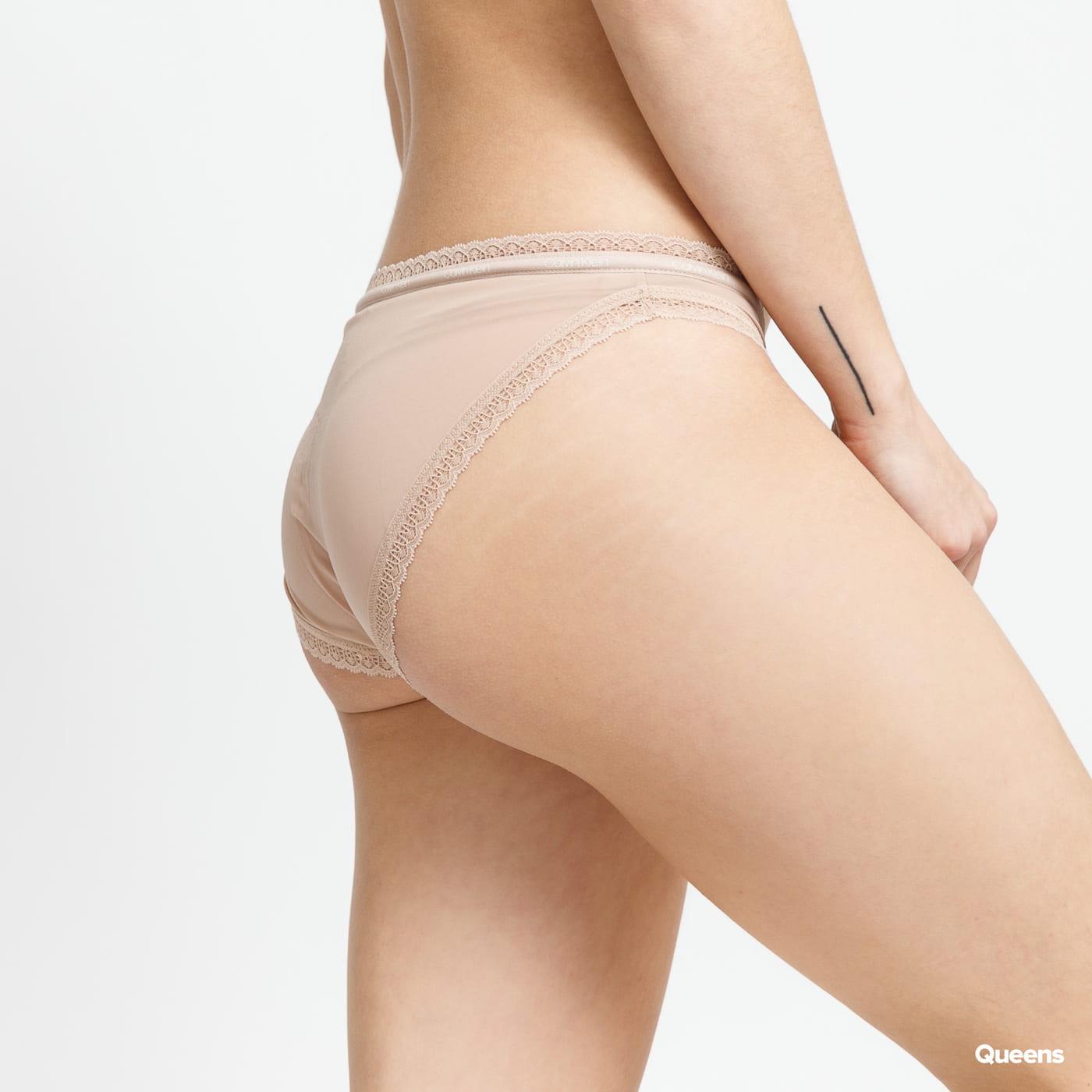 Calvin Klein 3Pack Bikini - Slip C/O černé / bílé / béžové