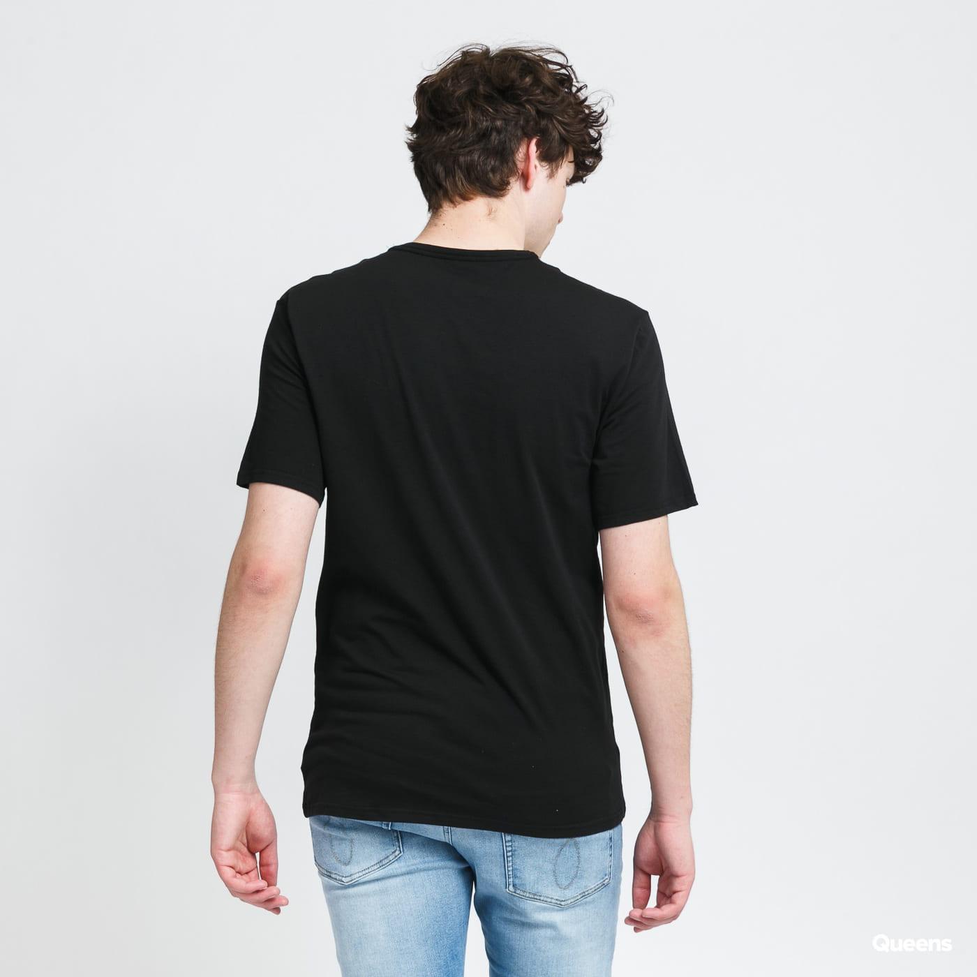 Calvin Klein CK ONE SS Crew Neck 2Pack C/O black / melange gray