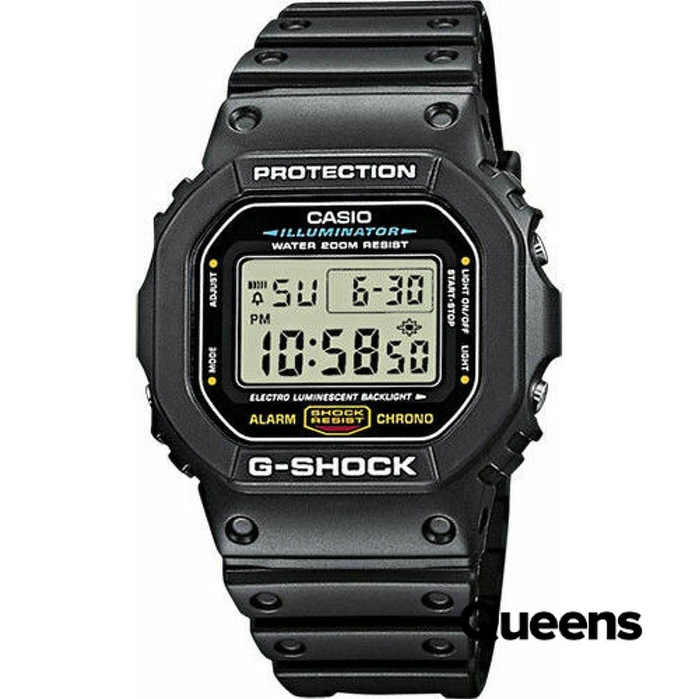 Casio G-Shock DW 5600E-1VER black stone washed no length