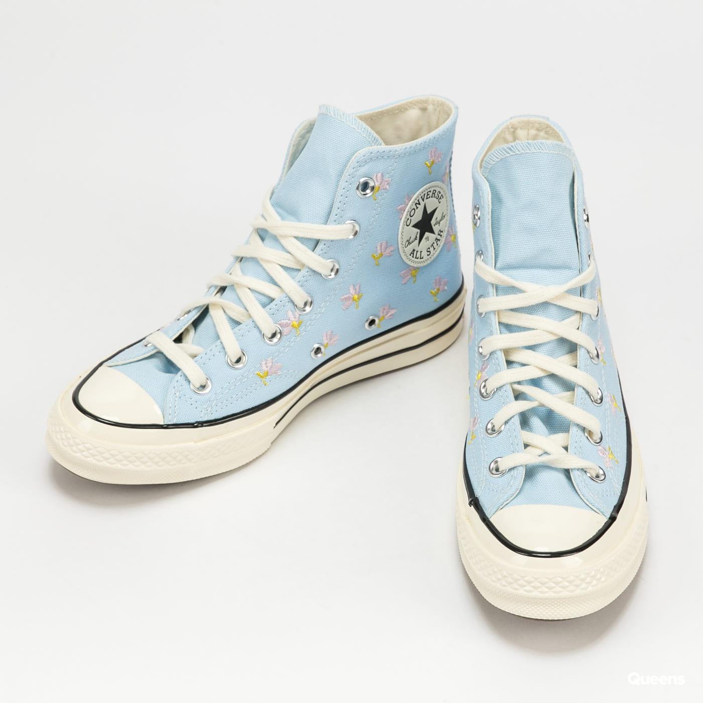 Converse Chuck 70 Hi chambray blue / egret