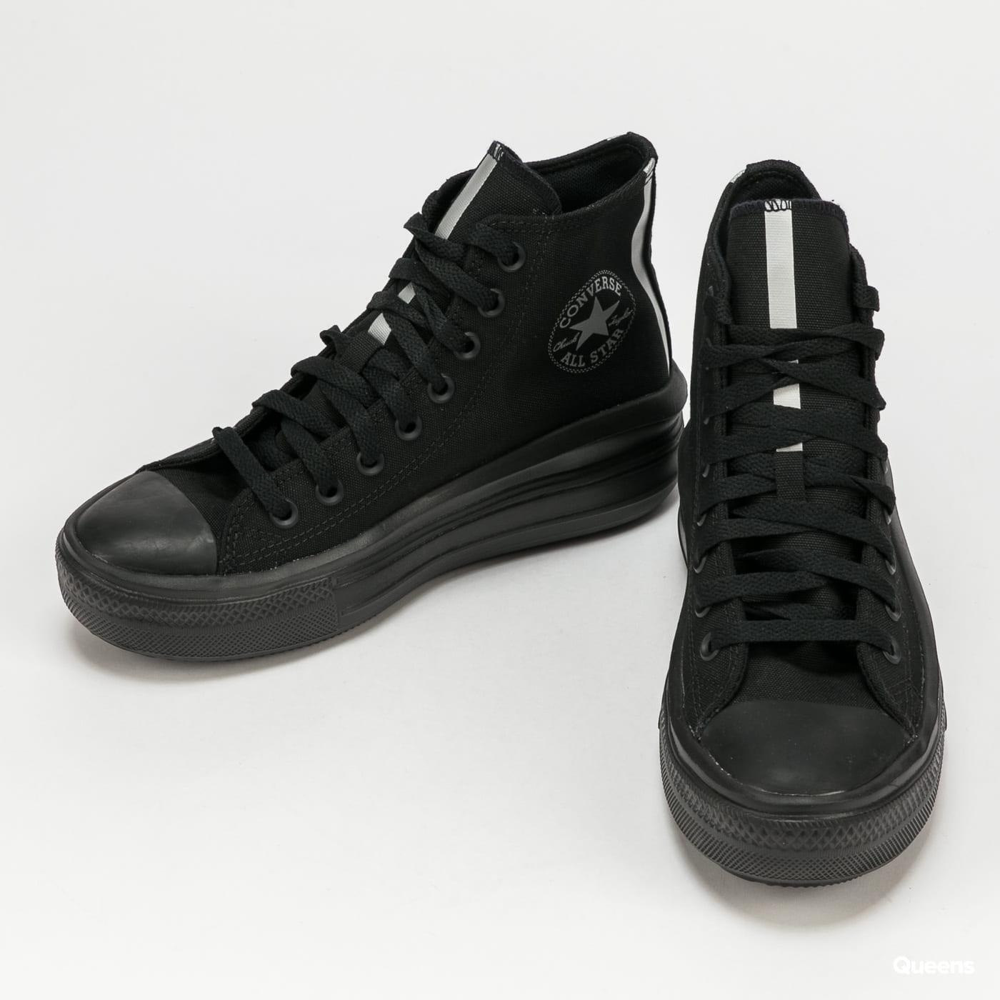 Converse Chuck Taylor All Star Move Hi black / white / black