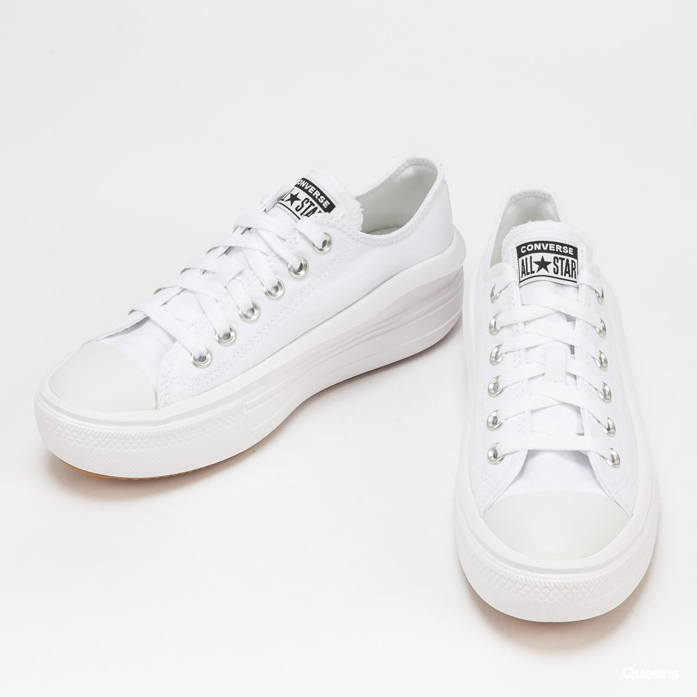 Converse Chuck Taylor All Star Move OX white / white / white