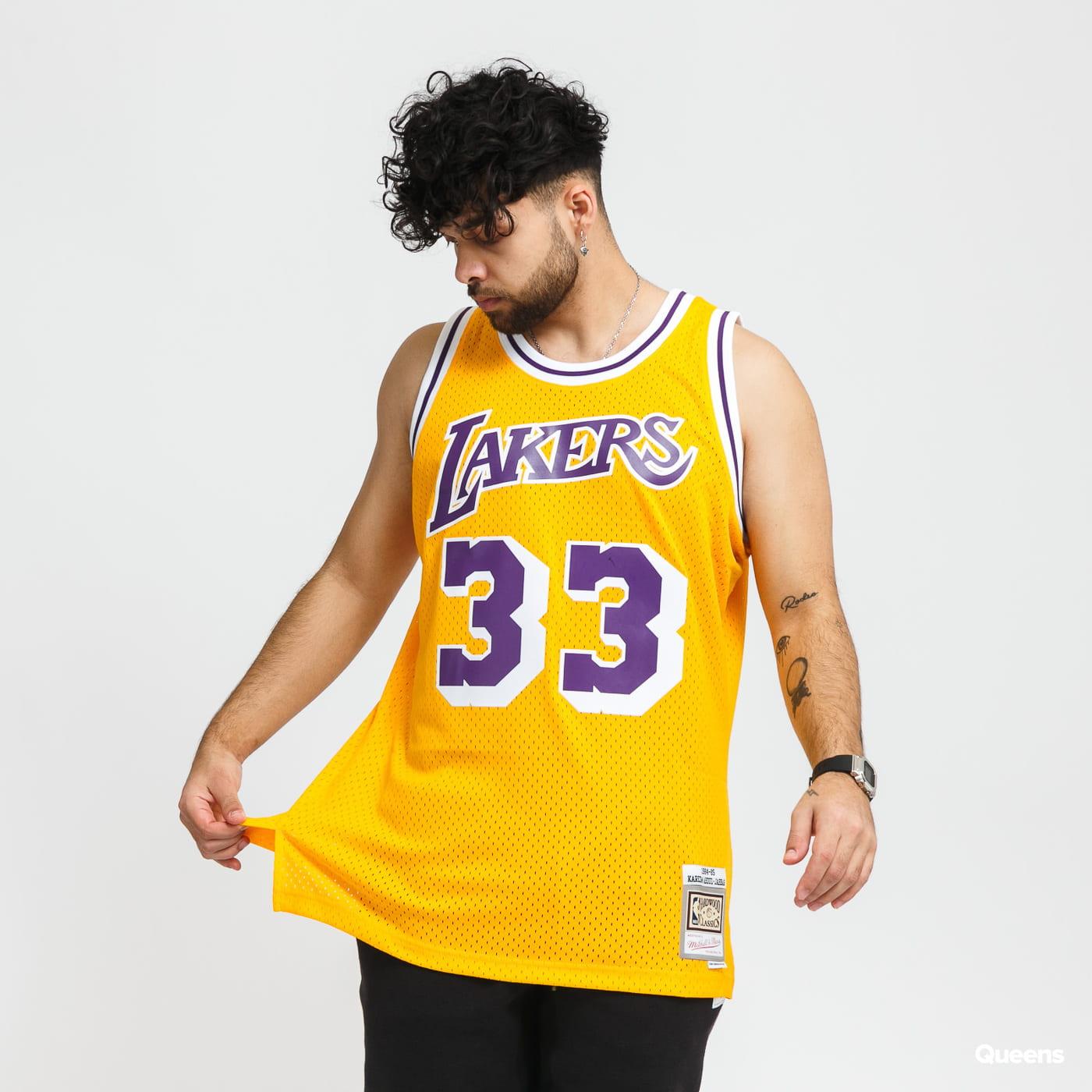 Mitchell & Ness Swingman Jersey LA Lakers Kareem Abdul-Jabbar