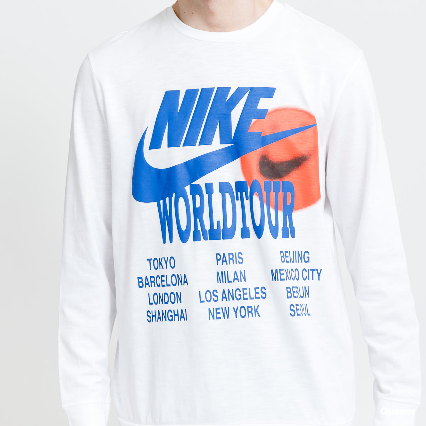 Nike M NSW LS Top Worldtour blue / turquoise
