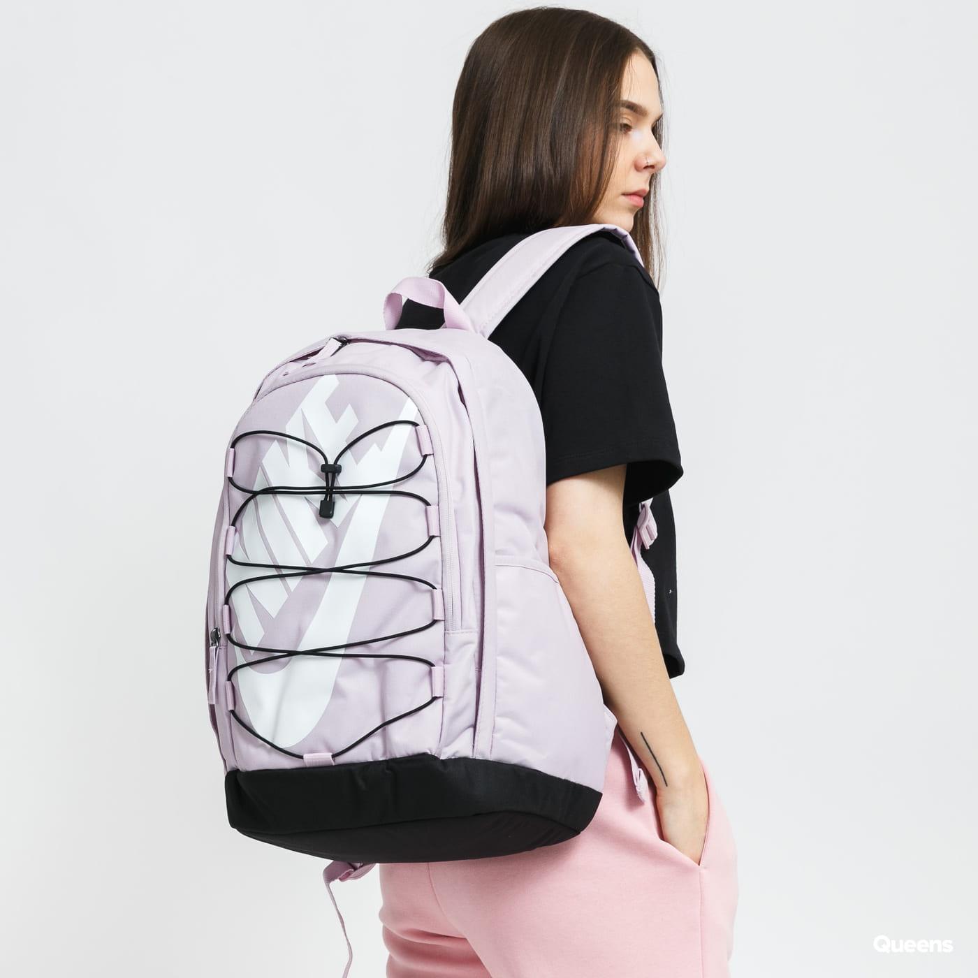 Nike NK Hayward Backpack - 2.0 fialový / černý
