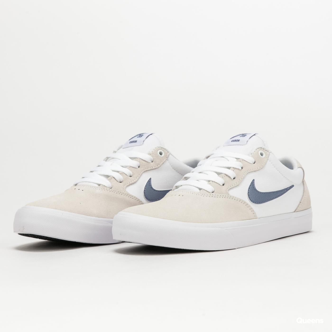 Nike SB Chron Solarsoft white / ashen slate - white - white