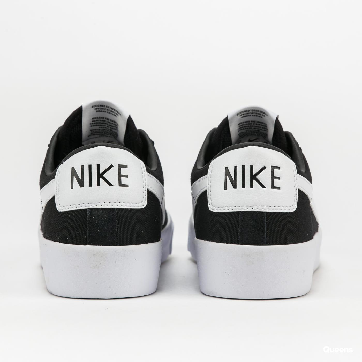 Nike SB Zoom Blazer Low Pro GT black / white - black