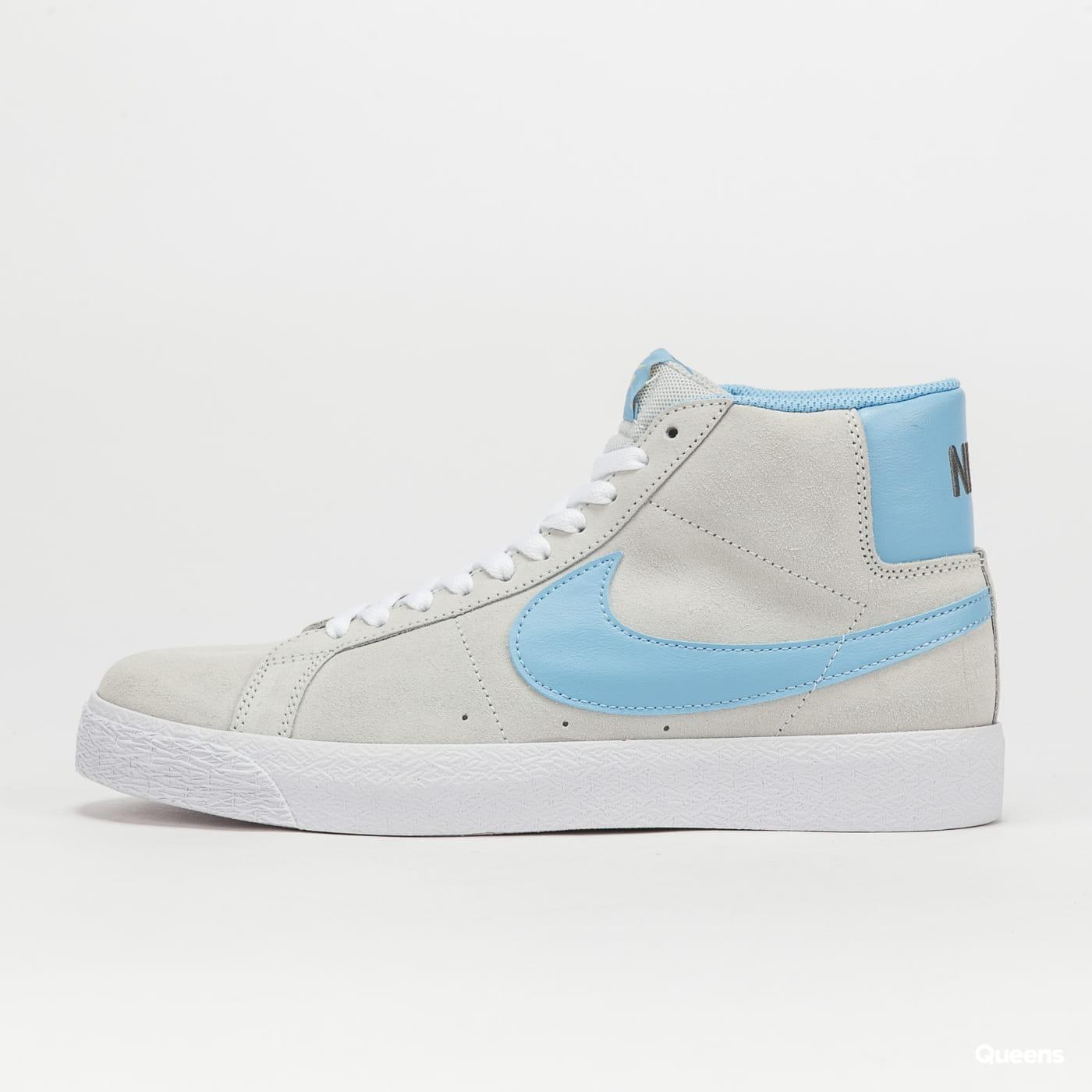 Nike SB Zoom Blazer Mid photon dust / psychic blue