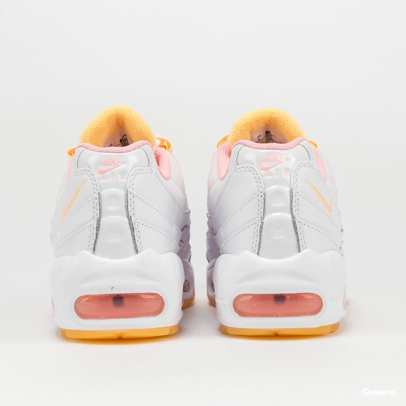 Nike W Air Max 95 white / arctic punch - melon tint
