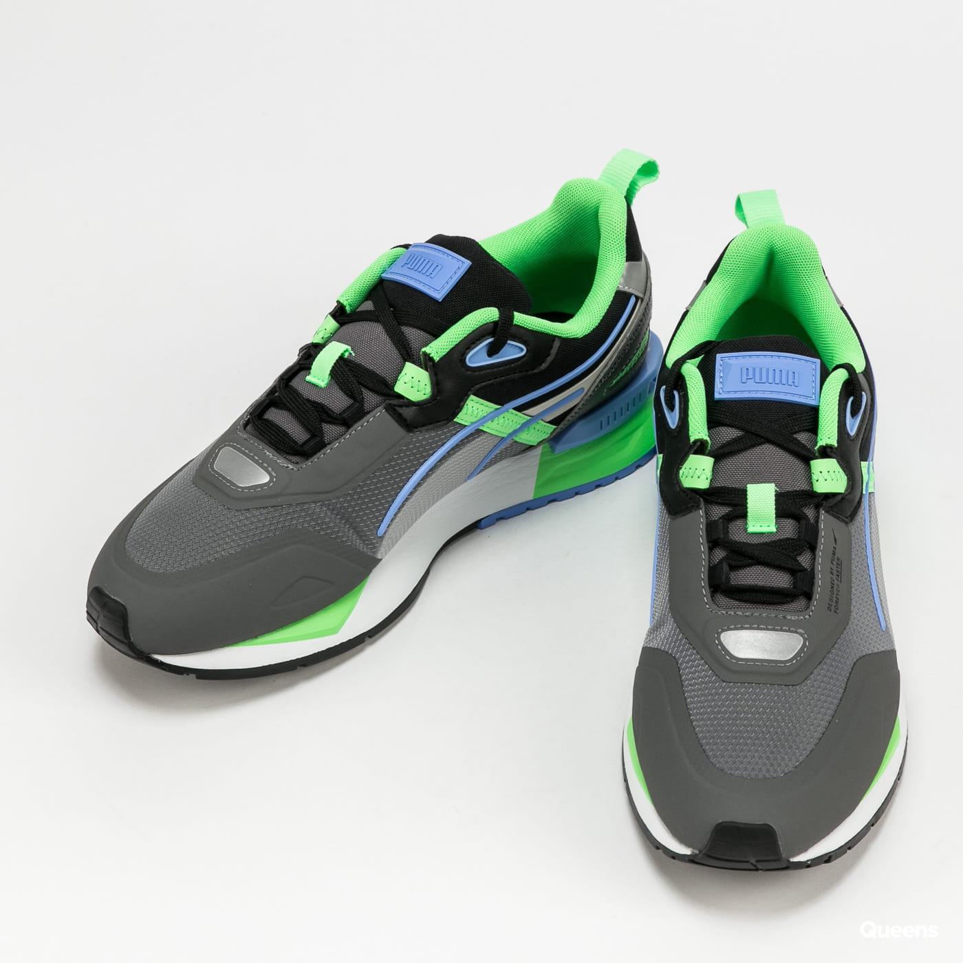 Puma Mirage Tech castlerock - elektro green