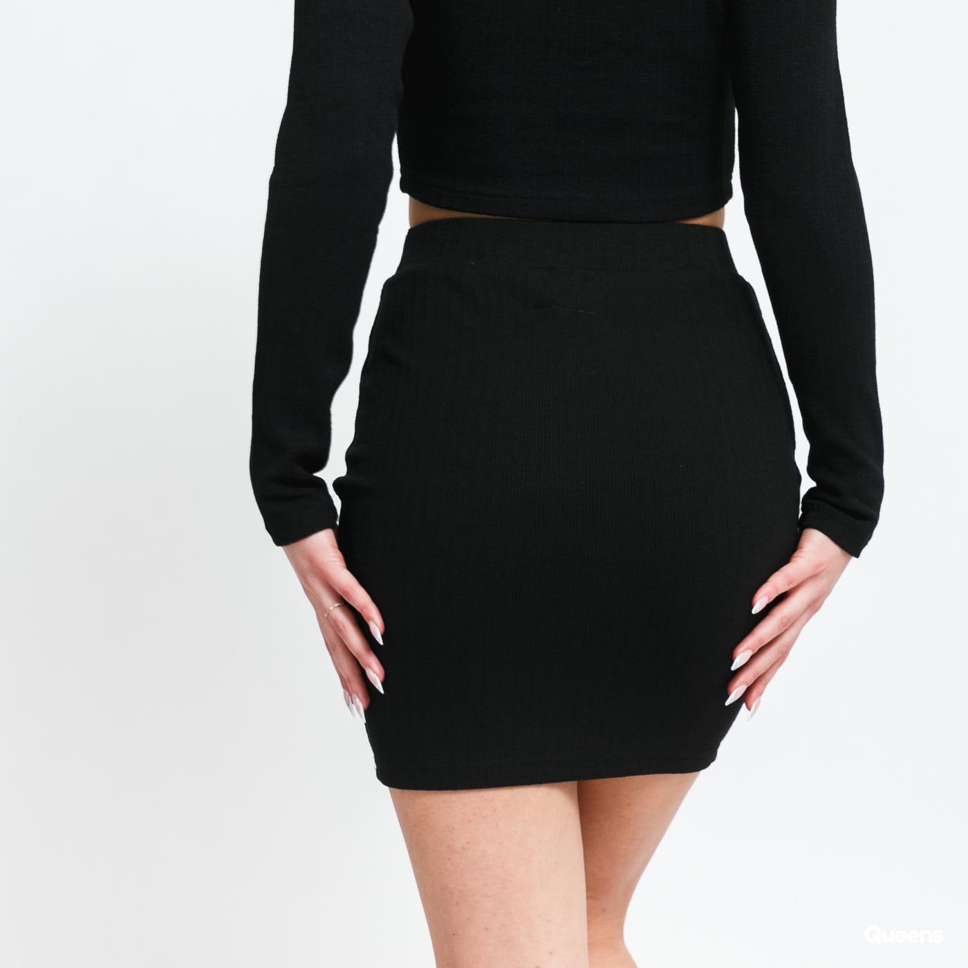 Sixth June W Ribbed Skirt černá
