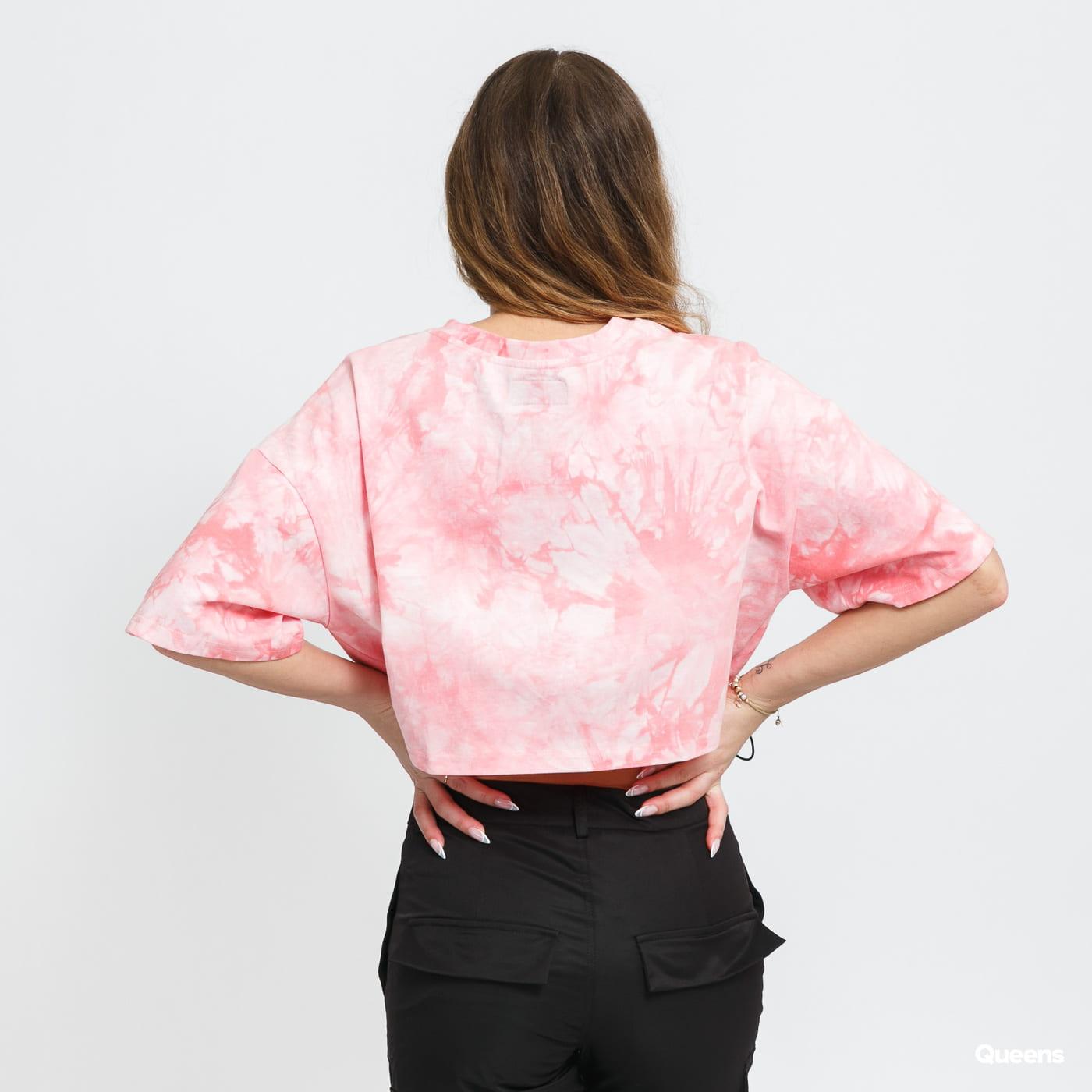 Sixth June W Tie Dye Crop Top růžové