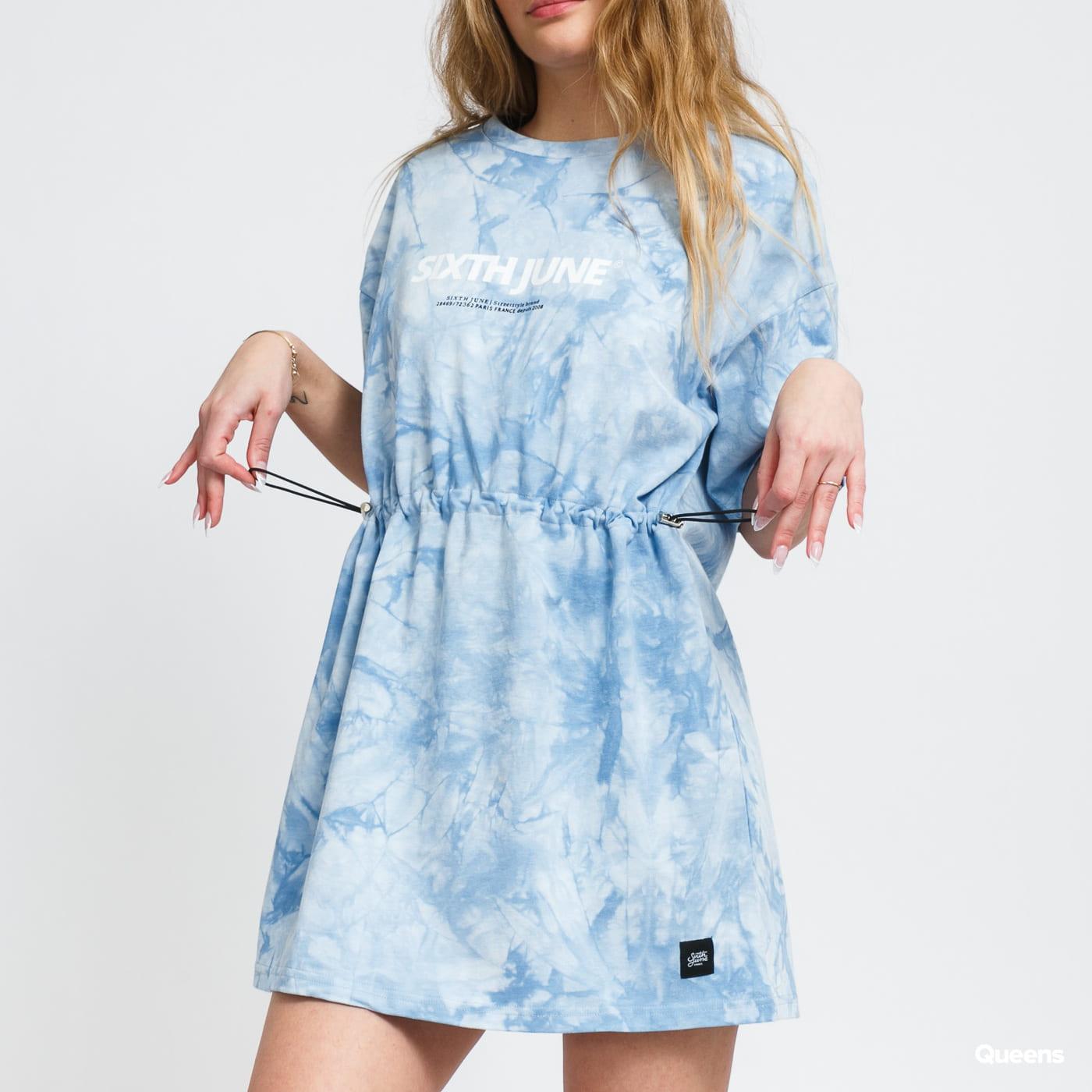 Sixth June W Tie Dye Dress modré