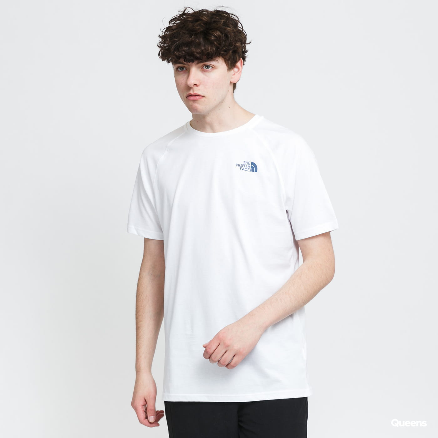 The North Face M S/S North Face Tee blue / turquoise