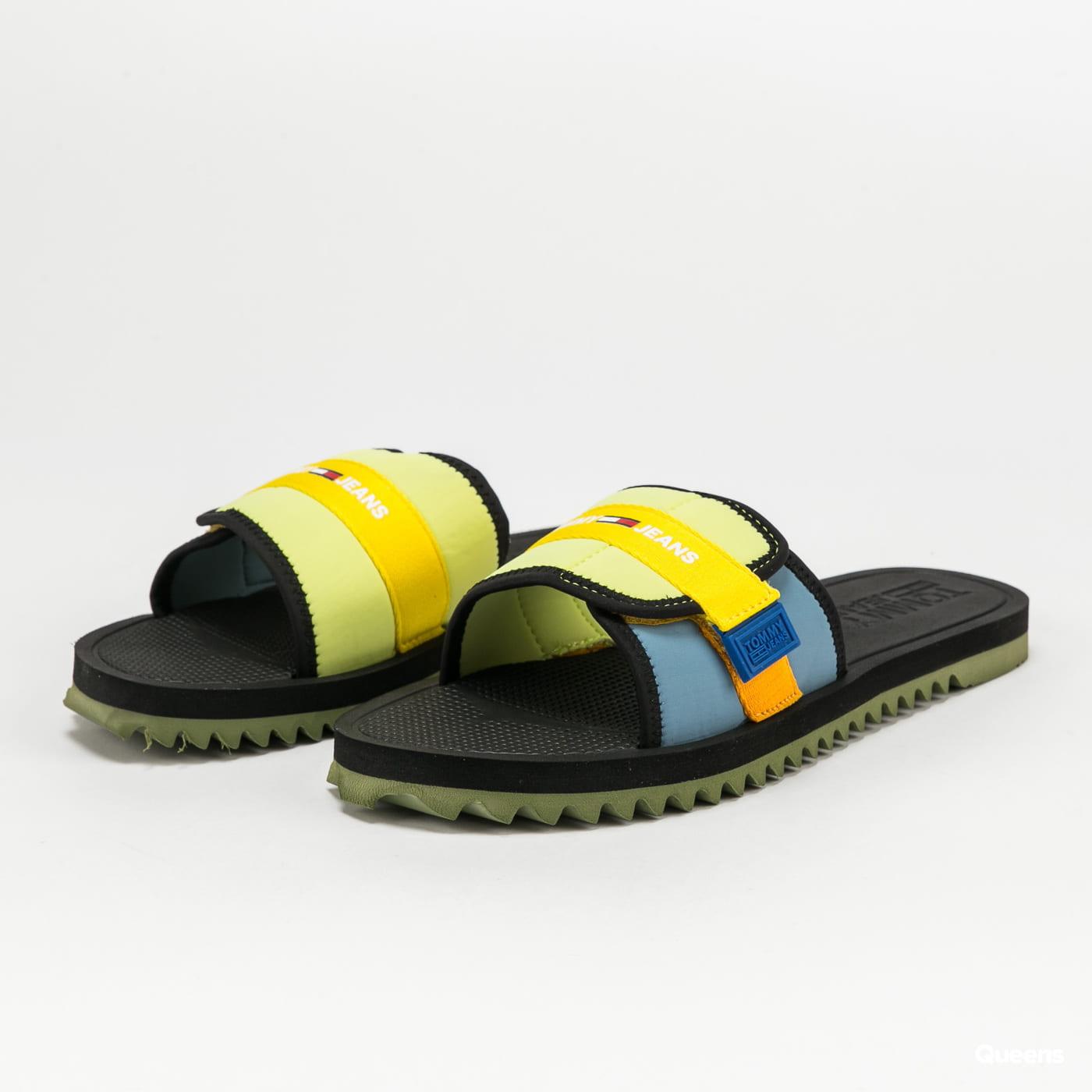 TOMMY JEANS Slip On Tech Sandal cobalt