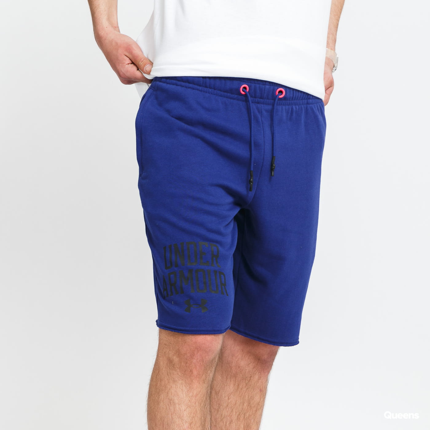Under Armour Rival Terry Collegiate Short navy
