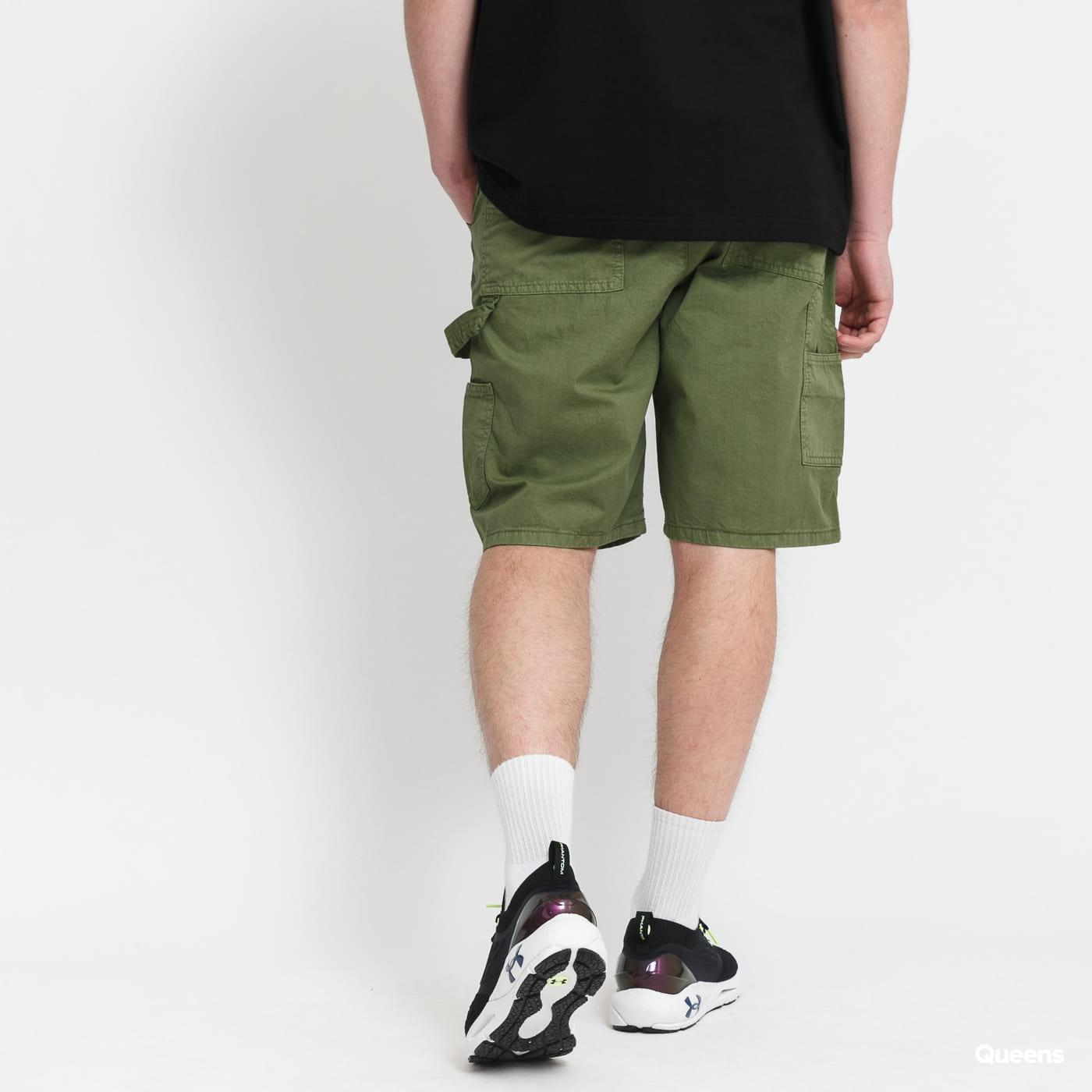 Urban Classics Carpenter Shorts olive