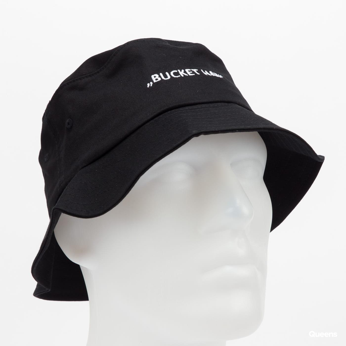 Urban Classics Lettered Bucket Hat black