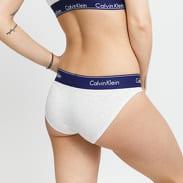 Calvin Klein Bikini - Slip melange krémové / fialové