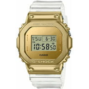 "Casio G-Shock GM 5600SG-9ER ""Skeleton Gold Series"" zlaté / průhledné"