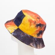 KANGOL Tie Dye Bucket navy / light red / yellow