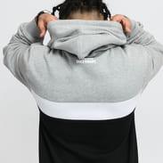 Mass DNM Special Hoody black / melange gray / white