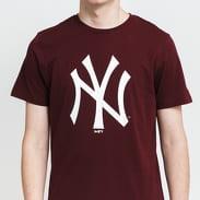 New Era MLB Team Logo NY vínové / bílé