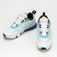 Nike Air Max 270 React ENG (GS) white / black - bleached aqua