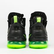 Nike Lebron XVIII black / electric green - black