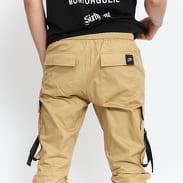 Sixth June Strap Cargo Pants béžové