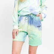 Sixth June W Tie Dye Shorts zelené / žluté / modré