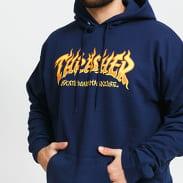 Thrasher Fire Logo Hoody blue / turquoise