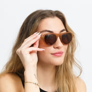 Urban Classics Sunglasses Kalimantam 3-Pack černé / šedé / hnědé