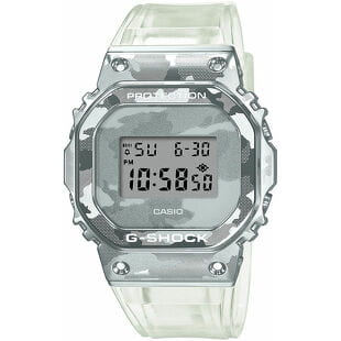 "Casio G-Shock GM 5600SCM-1ER ""Skeleton Camouflage Series"""