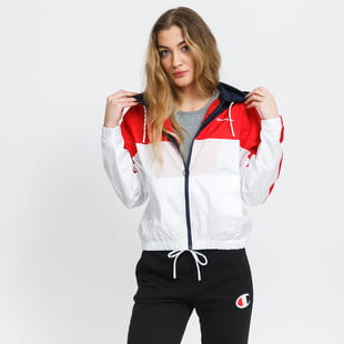 Champion Colour Block Hooded Track Jacket