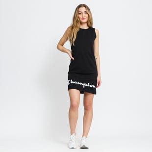 Champion Script Logo Ribbed Trim Dress