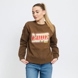 LOVE THEM Womens Crewneck Glow Not Glow