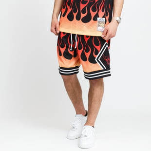 Mitchell & Ness NBA Flames Swingman Short Bulls
