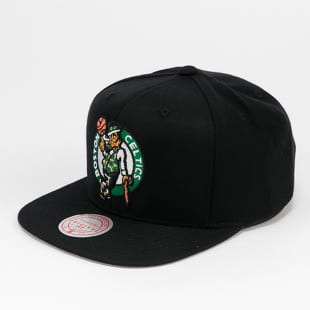 Mitchell & Ness Wool Solid Snapback Boston Celtics