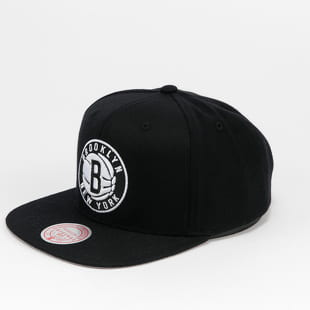 Mitchell & Ness Wool Solid Snapback Brooklyn Nets