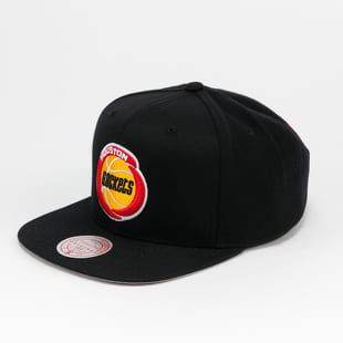 Mitchell & Ness Wool Solid Snapback Houston Rockets