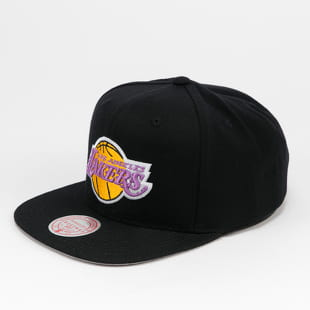 Mitchell & Ness Wool Solid Snapback LA Lakers