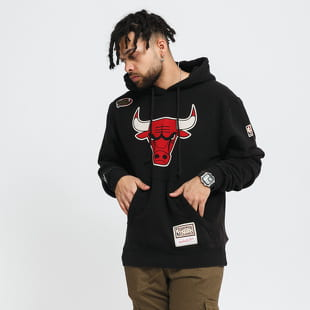 Mitchell & Ness Worn Logo Hoody Chicago Bulls